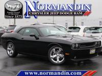 **ONE OWNER** and **CLEAN TITLE HISTORY**. Challenger