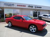 Load your family into the 2012 Dodge Challenger! Quite