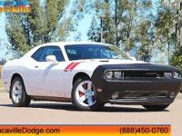 2012 Dodge Challenger Bright White  Odometer is 37506