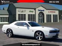 New Price! Alpine White 2012 Dodge Challenger SRT8 392