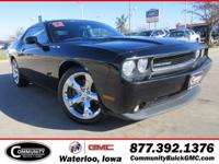 Black+Clearcoat+2012+Dodge+Challenger+SXT+RWD+5-Speed+A