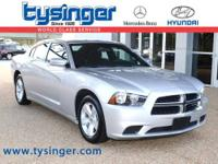 Bright Silver Charger SE RWD, 1-Owner, Check out the