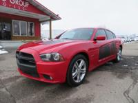 Options:  2012 Dodge Charger Navigation! Leather!