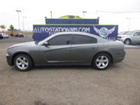 Options:  2012 Dodge Charger Se|Gray|91|246 Miles|Stock