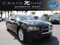 New Arrival! This 2012 Dodge Charger SE will sell fast