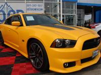 CARFAX One-Owner. Charger SRT8 Superbee,* 276 Watt