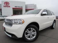 This 2012 Dodge Durango comes equipped with power