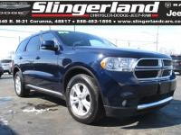 Options:  2012 Dodge Durango Crew|Recent Arrival!
