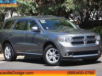 Safe and reliable, this Single Owner 2012 Dodge Durango