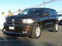 Options:  2012 Dodge Durango Sxt|Rugged Brown Pearl/|V6
