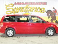 Red 2012 Dodge Grand Caravan SE/AVP FWD 6-Speed