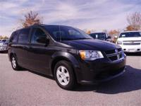 Grand Caravan SXT, 4D Passenger Van, and Black/Light