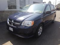 This 2012 Dodge Grand Caravan SE/AVP in True Blue Pearl