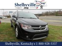 2012 Dodge Journey Crew FWD 6-Speed Automatic 3.6L V6