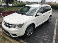White 2012 4D Sport Utility Dodge Journey Crew FWD
