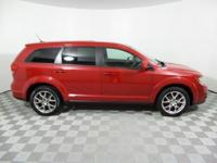 CARFAX ONE OWNER** and LOW MILES**. Red and Ready! Flex