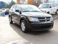 CARFAX One-Owner. This 2012 Dodge Journey SE in Black