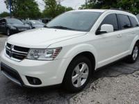 Options:  2012 Dodge Journey Sxt White Awd. Don't Let