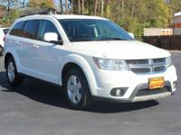 New Price! This 2012 Dodge Journey SXT in Pearl White