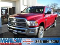 2012 RAM 2500 BIG HORN IN DEEP CHERRY RED CRYSTAL PEARL