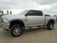 2012 DODGE RAM CREW CAB. SLT. SHORT BOX. 6.7L CUMMIINS
