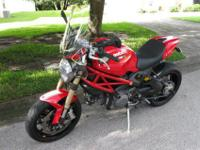 2012 Ducati Monster 1100 EVO ABS ONLY 5564 MilesLike