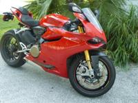 For sale is this 2012 Ducati 1199S Panigale ABS with