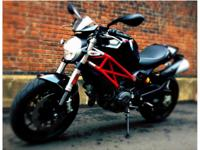 Like new 2012 Ducati 796 Monster with 2,5 XX miles.