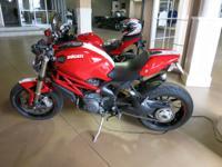 2012 Ducati Monster EVO1100 (VIN: ZDM1RARRXCB051861),