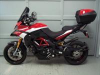 2012 Ducati Multi-Strada, Pikes Peak edition. This