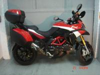 2012 Ducati Multistrada 1200S, Pikes Peak edition. It