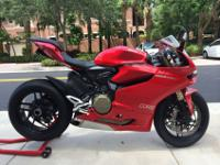 2012 Ducati Panigale 1199 in perfect condition.Bike
