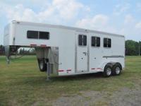 2012 Eby EBY V-Series 3 Horse Slant G/N New EBY