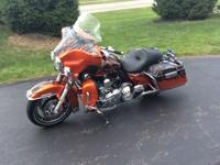 This is one of a kind, 2012 Electra Glide Ultra Limited