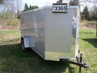 2012 Freedom trailers, enclosed cargo trailer. This was