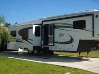This is a 2012 Excel Limited 36GKE Four Seasons Unit,