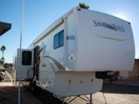 2012 Excel Snowbird M-34FK. Manufactured by Excel