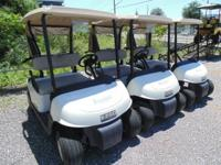 2012 EZGO RXV 48 VOLT REFURBISHED IN 2015 BY GOLF CARS