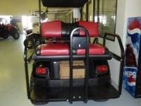 Selling a NEW 2012 EzGo ST Express Electric 48 Volt 6