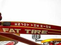This 2012 edition of Felt's Fat Tire Ale Cruiser was