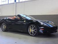 VERY SPECIAL 2012 FERRARI CALIFORNIA.  FINISHED WITH A