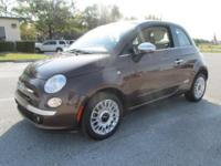 ONE OWNER, NO ACCIDENTS, FIAT 500 LOUNGE 2 DOOR