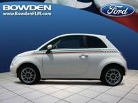 2012 FIAT 500 2dr Car POP. Our Location is: Bowden Ford