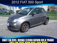 2012 FIAT 500, we offer financing for Good Credit, Bad