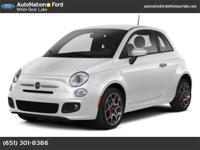 2012 FIAT 500 Our Location is: AutoNation Ford White