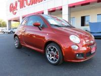 Come see are 2012 Fiat 500 Sport with 13k Front Wheel