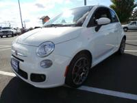 Fiat 500 Sport, Accident Free AutoCheck, Great on gas