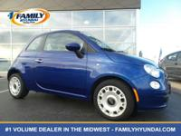 Check out this 2012 FIAT 500 Pop. Its Automatic