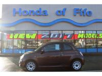 PREMIUM & KEY FEATURES ON THIS 2012 Fiat 500 include;