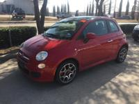 We are excited to offer this 2012 FIAT 500. Drive home